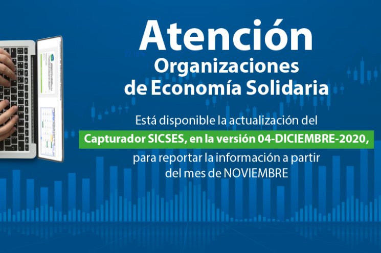 Disponible actualización SICSES para reporte información a partir de Noviembre.